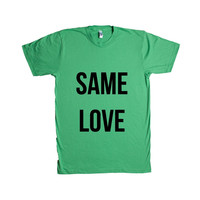 Same Love Gay LGBT Pride On Lesbian Bisexual Transgender Asexual Pansexual Relationship Relationships SGAL6 Unisex T Shirt