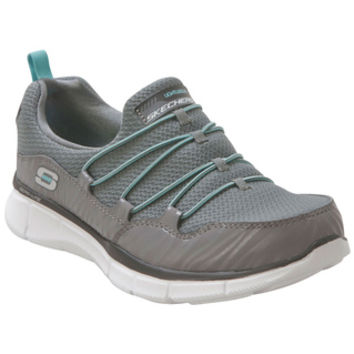 Skechers Equalizer Absolutely Fabulous Charcoal Charcoal Sneaker