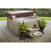 Lifesmart Rock Solid Simplicity Plug and Play 4 Person Spa With 12 Jets:Amazon:Sports & Outdoors