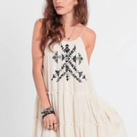Eyes Locked Embroidered Dress