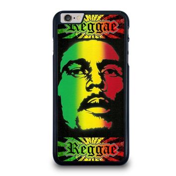 bob marley rasta iphone 6 6s plus case cover  number 1