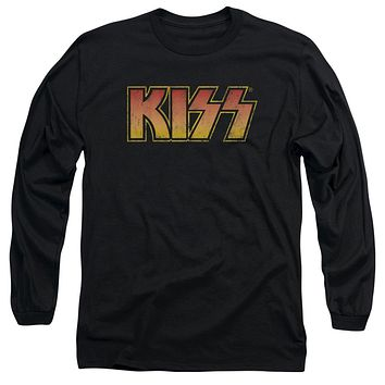 KISS Classic Logo Long Sleeve Adult Tee