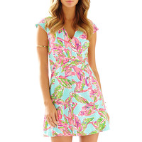 Lilly Pulitzer Briella Fit & Flare Cap Sleeve Dress