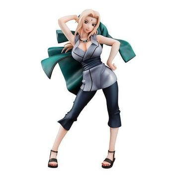Action Figure Naruto Tsunade Anime Model Cartoon Doll PVC 21cm Japanese Figurine for Collection GH885