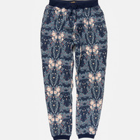 10Deep   Bottoms   SP14 Division Sweatpant - Navy Cherry Blossom