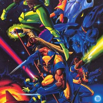 X-Men 1994 Marvel Comics Poster 23x35