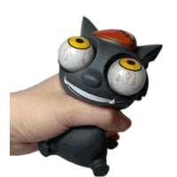 Mad Cat Bulging Eyes Stress Ball