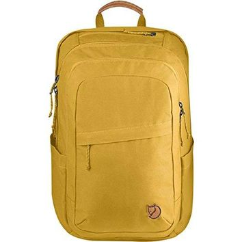 Fjallraven - Raven 28L Backpack, Dandelion, Unpacking Adventure Since 1960