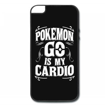pokemon go is my cardio iPhone 5/5s Hard Case