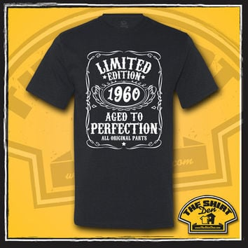 55th Birthday Gift - Turning 55 - 55 Years Old - Limited Edition 1960 Shirt - Tee - T-Shirt - Gift for Him - Funny