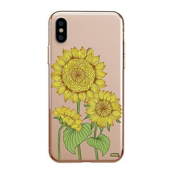 Sunny Sunflower - iPhone Clear Case