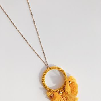 Nicole Tassel Detail Necklace
