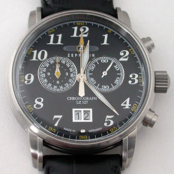 Graf Zeppelin LZ127 Chronograph Watch 7686-2