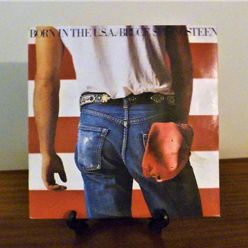 "Vintage 1984 Bruce Springsteen ""Born In The USA"" Vinyl LP Album Released by CBS Records / Rock Album"