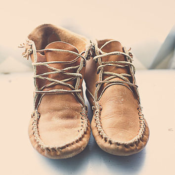 Hippie Ladies Moccasin Shoes