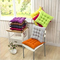 Pure Color Brushed Solid Tatami Chair Seat Sofa Meditation Floor Cushions Office Autumn Winter Cushion Home Textile