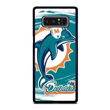 MIAMI DOLPHINS Samsung Galaxy Note 8 Case Cover