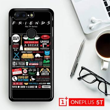 Friends Tv Show Poster E0397  OnePLus 5T / One Plus 5T Case