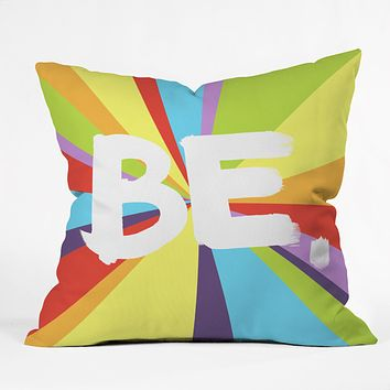 Kal Barteski BE Spectrum 1 Throw Pillow