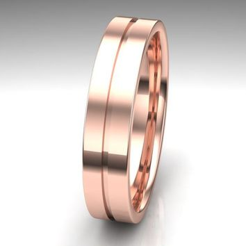 Unique Mens Wedding Band