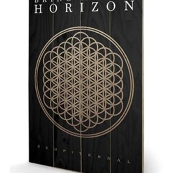 Sempiternal Bring Me The Horizon Wooden Wall Art - Buy Online at Grindstore.com