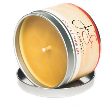 Harvest Spice Travel Tin Soy Candle