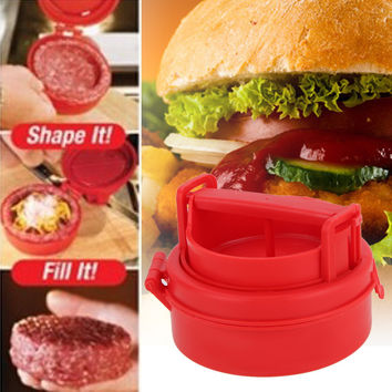 Stuffed Burger Patty Maker Press