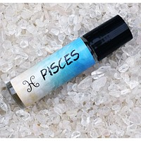 PISCES Perfume Oil, February 19 - March 20, Astrology Horoscope, The Fish Zodiac Symbol