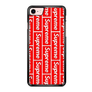Supreme Logo 2 iPhone 7 Case