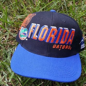 78eaf4397b Vintage Sports Specialties Florida Gators Shadow snapback hat ca