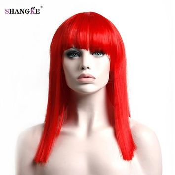 Bob Style Shoulder Length Straight Hair 8 Colors