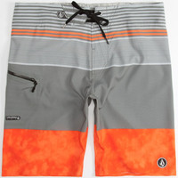 Volcom Linear Mod Mens Boardshorts Orange  In Sizes