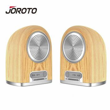 JOROTO BS60 Bluetooth Speaker Portable Multifunction Dual Wireless Speakers Mini Subwoofer Magnetic Suction Outdoor Speaker 4in1