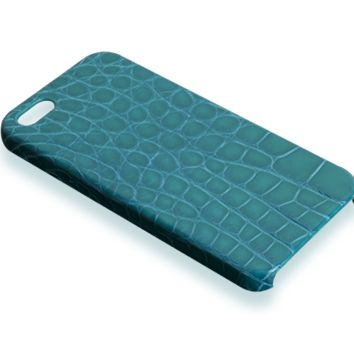 iPhone 5S case - Blue-green alligator
