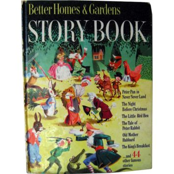 Better Homes And Gardens Story Book 1950 / Little Black Sambo / Illustrated Childrens Book / Gift Book / Read Aloud Book