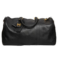 CHANEL LARGE QUILTED DUFFLE BAG