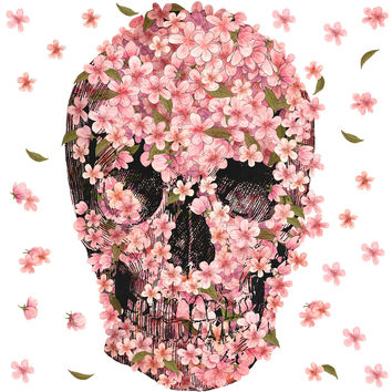 Terry Fan A Beautiful Death wall decal