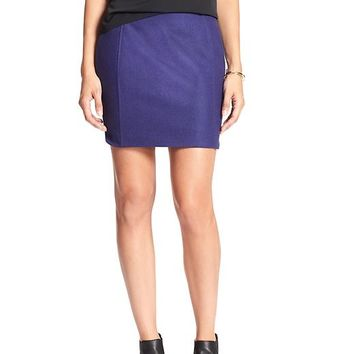 Banana Republic Womens Factory Wool Blend Mini Skirt