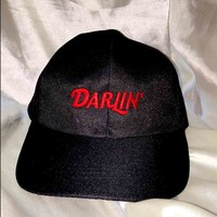 SWEET LORD O'MIGHTY! DARLIN CAP IN BLACK