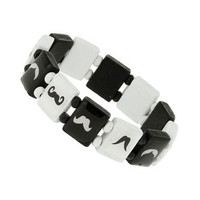 Moustache Bracelet - Mens Jewelry  - Shoes and Accessories