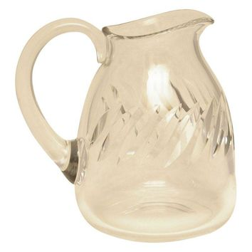 Pre-owned Mid-Century Baccarat French Crystal Pitcher