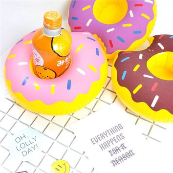 Mini Donuts Inflatable Cup Holders