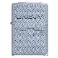 Zippo 1578 Classic Street Chrome Chevrolet Logo-Chevy Windproof Pocket Lighter