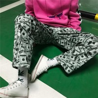 Dollar Bill Trousers