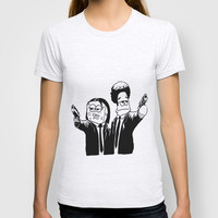 Pulp Fiction ( Patrick and Spongebob) T-shirt by Lyre Aloise