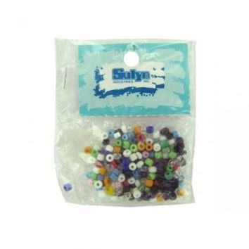 MDIGMS9 Asst Color Small Pony Beads Beads