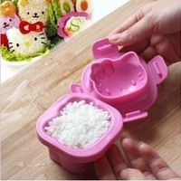Kawaii Cute Hello Kitty Rice Lunch Food Ball Mould Mold Sushi Shaper Kitchen Kit Cooking Tool Kid Gift