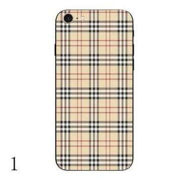 LMFUP0 burberry fashion print iphone phone cover case for iphone 6 6s 6plus 6s plus 7 7plus1