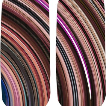ROS Brown Twirl Socks