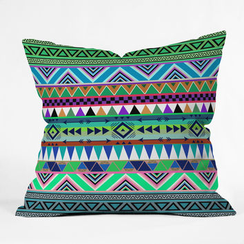 Bianca Green Esodrevo Outdoor Throw Pillow